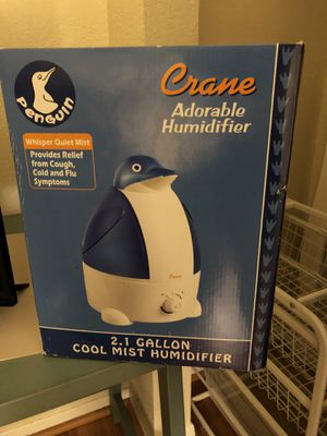 2.1 gallon unopened penguin humidifier for Sale in San Diego, CA