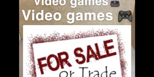 VIDEO GAMES FOR SALE OR TRADE for Sale in Vancouver,  WA