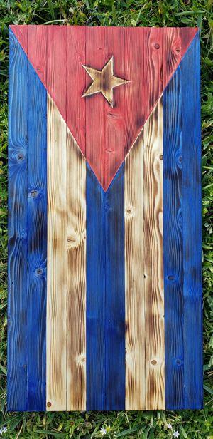 Handmade wooden Cuban Flag for Sale in Hialeah, FL