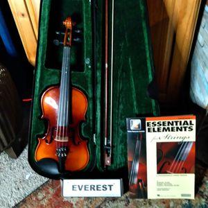 Violin With Case Book And Strap for Sale in Auburn, WA