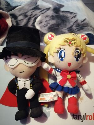 Sailor Moon Bandai with Tuxedo Mask. Authentic. No tags for Sale in Moreno Valley, CA