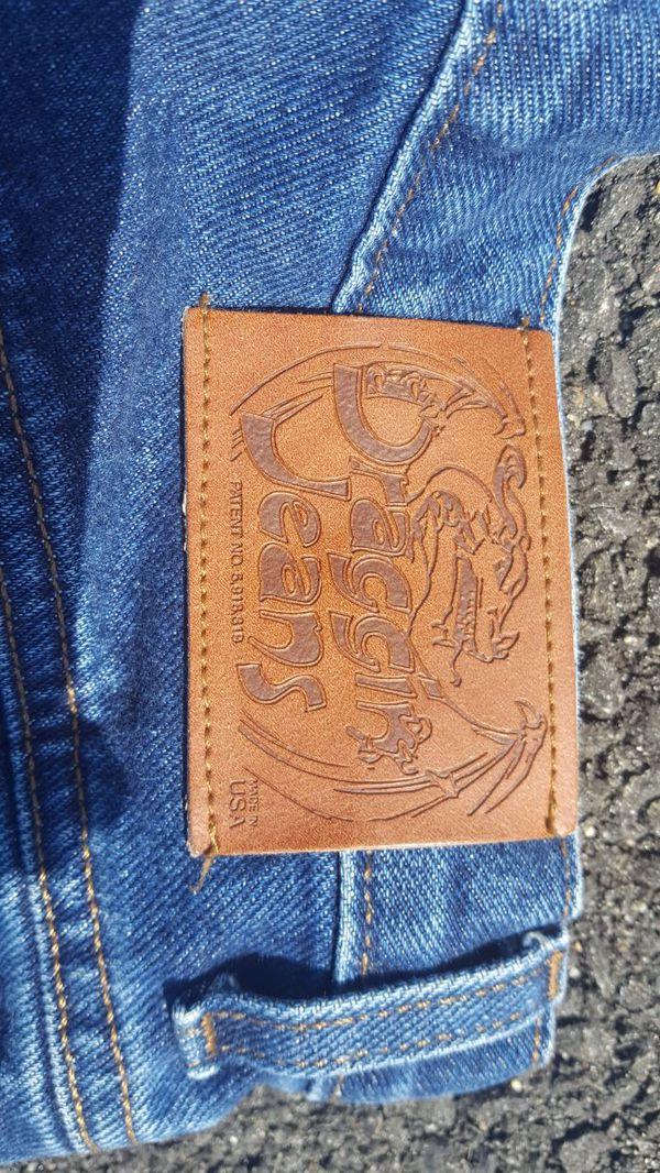Kevlar Motorcycle Draggin Jeans 32 x32