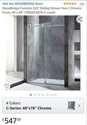 Frameless shower door for Sale in Orlando, FL
