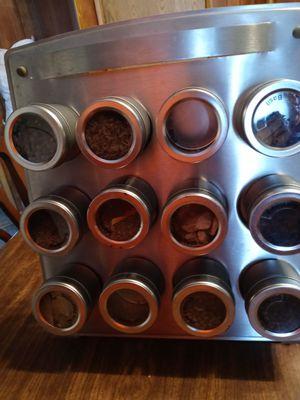 12 piece Spice Rack Magnates for Sale in Wichita, KS