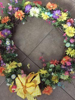 Spring & Summer Wreath for Sale in Groveland,  FL
