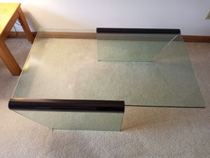 "Contempory Glads Coffee Table 3/4"" glass perfect condition for Sale in Erie, PA"