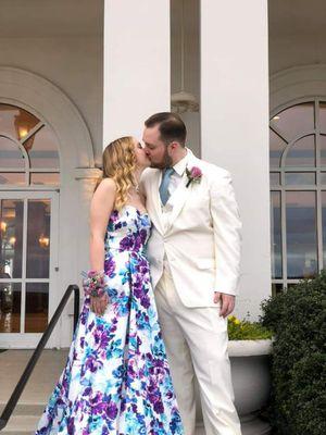 White floral prom dress for Sale in Douglasville, GA