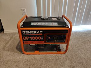 Generac GP1800 Gas Generator for Sale in Lynnwood, WA
