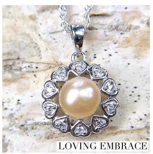 Vantel pearls loving embrace necklace for Sale in Farmerville, LA