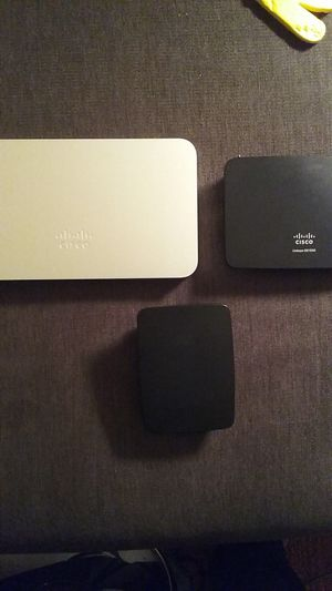 Cisco Router, Firewall And Wifi Extender Bundle for Sale in Fairlawn, OH
