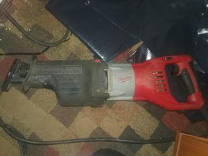 Milwaukee 15a Sawzall for Sale in Fairfax, VA