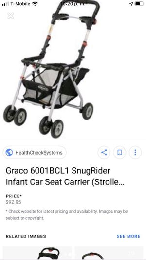 Graco car seat carrier for Sale in Palo Alto, CA