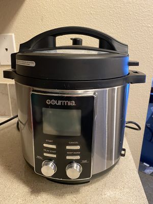 Gourmia Instant Pot 14- in-1 Pressure Cooker for Sale in Bellevue, WA