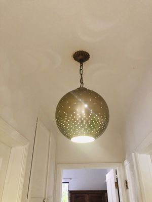 Target Hanging Brass Light Fixture for Sale in Los Angeles, CA