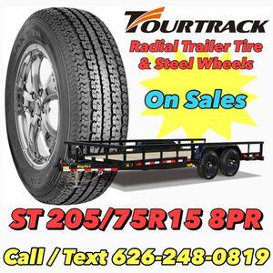 Trailer Tire 205/75R15 8PR - Radial Trailer Tire for Sale in Riverside, CA