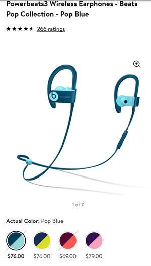 Beats By Dre Powerbeats3 Wireless for Sale in Phoenix, AZ