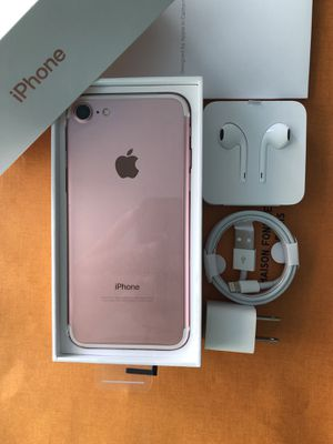 New Sealed! iPhone 7 Factory Unlocked 128GB 32GB 256GB order sponser ready for Sale in Hialeah, FL