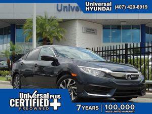 2018 Honda Civic Sedan for Sale in Orlando, FL