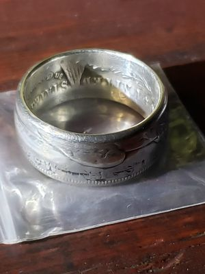 1884 Morgan Dollar Coin Ring Size 13 for Sale in Bakersfield, CA