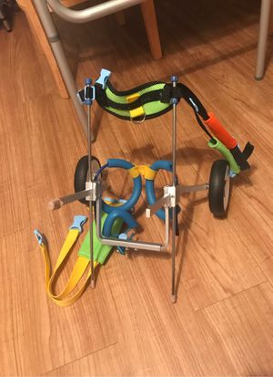 Pet wheelchair ready to go for Sale in Honolulu, HI