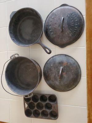 Vintage Cast Iron for Sale in Tempe, AZ