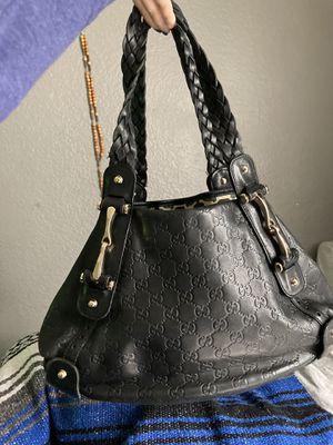 AUTHENTIC GUCCI G leather Pelham hobo shoulder bag for Sale in Fullerton, CA
