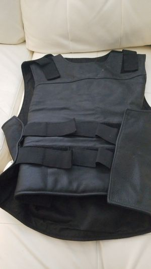 Male motorcycle leather vest for Sale in Apollo Beach, FL