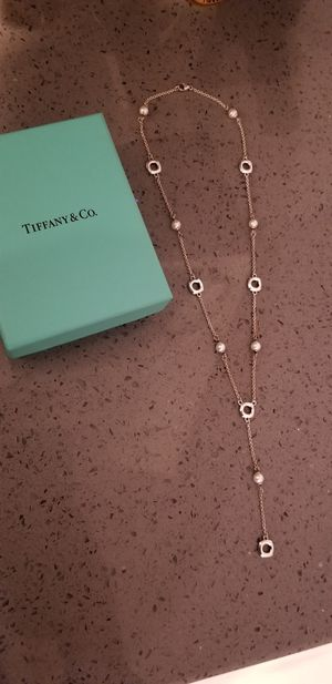 Tiffany & Co. Dainty Pearl Necklace for Sale in Escondido, CA