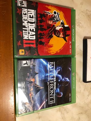 2 Xbox one games for Sale in Bristol, PA