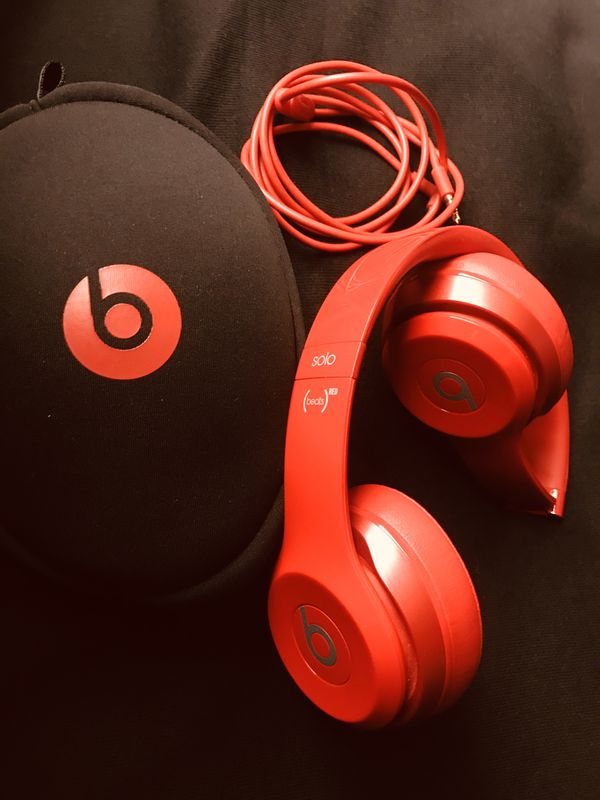 Beats Solo Red !!