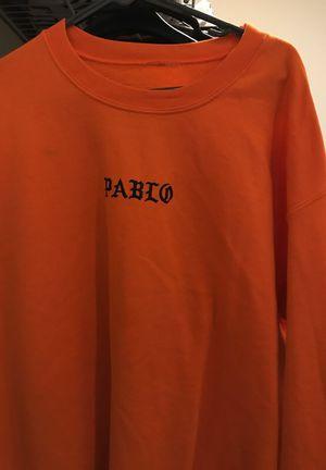 Kanye West Saint Pablo crew neck sweatshirt for Sale in Austin, TX