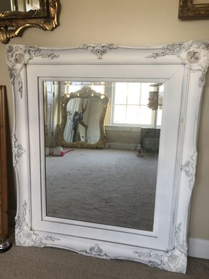 """42""""X36""""Antique french wooden mirror for Sale in Gainesville, VA"""