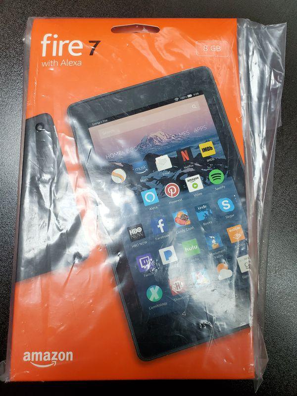 Amazon Fire 7 Tablet with Alexa