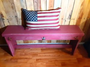 Rustic bench for Sale in Prineville, OR
