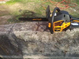 Poulan pro 18' 42cc gas chainsaw for Sale in Fort Worth, TX