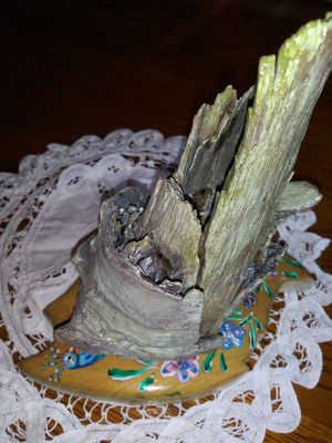 Peacock based driftwood candle for Sale in Woodburn, OR
