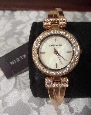 New with Tags Anne Klein Rose Gold Pink Crystal Watch for Sale in Mill Creek, WA