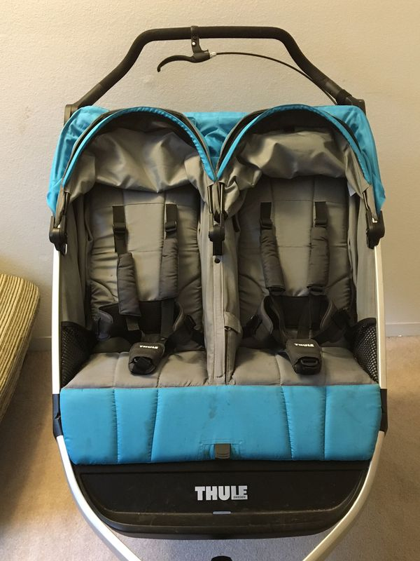 Thule Urban Glide 2 Double Jogging Stroller All-Terrain