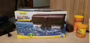 Tetra Whisper 60 Aquarium/Fish tank filter for Sale in Renton, WA