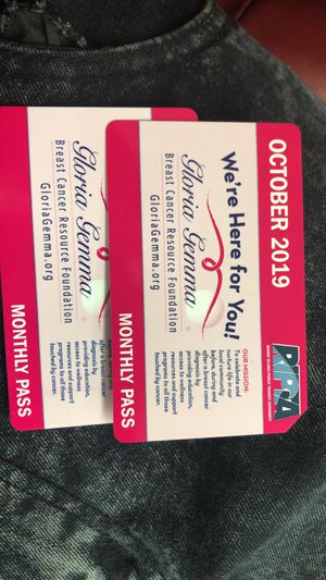 October bus pass monthly for Sale in Providence, RI