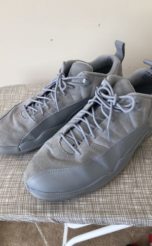 All Grey on Grey Jordan 12's Size 13 for Sale in Herndon, VA