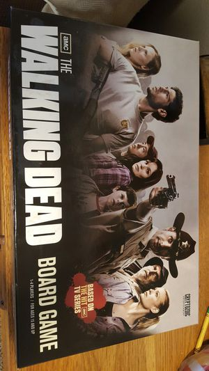 AMC The Walking Dead Board Game for Sale in Grand Prairie, TX