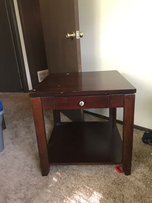 Nice table with sliding drawer for Sale in Wichita, KS