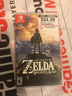 Legend of Zelda breath of wild the wild for Sale in Vallejo, CA