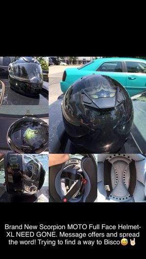 Scorpion Motorcycle Helmet! XL BRAND NEW for Sale in Mount Holly, NJ