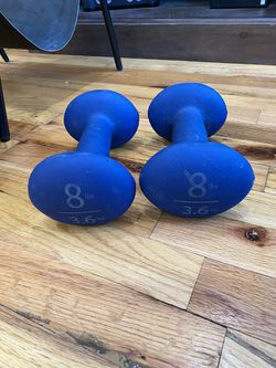 8lb Dumbbell Weights for Sale in Washington,  DC