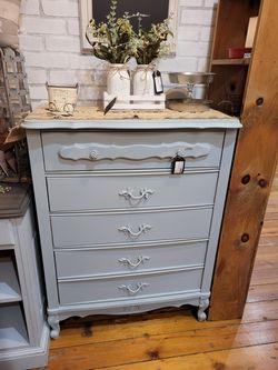 Refinished Dresser Blue/Grey for Sale in Bonney Lake,  WA