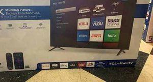 "Brand New TCL ROKU TV! 50"" w/ warranty. Open box KGAAX for Sale in Houston, TX"