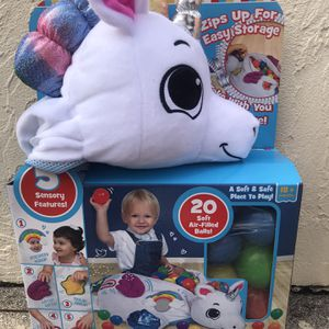Little Tikes Sensory Unicorn Ball Pit for Sale in Fort Lauderdale, FL