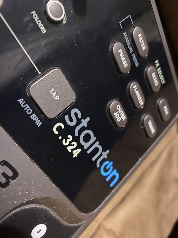 Stanton C.324 CD Player / MP3 / Turntable slot load DJ equipment Pro Audio